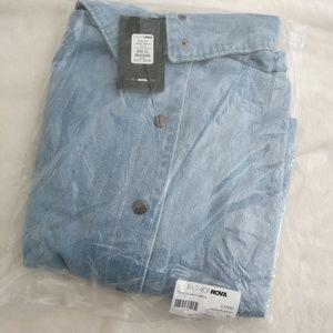 FashionNova Denim Jacket XL
